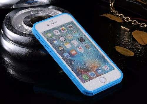 Kit Capinha Case Prova D Agua Apple Iphone 6s 6 Plus 7 Plus