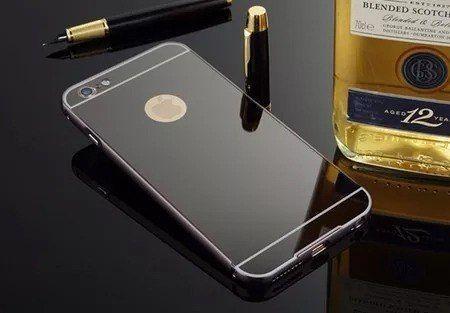 Capinha Bumper Alumínio Espelhada Luxo Para Iphone 5 /5s Se