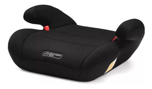 Assento De Elevação Infantil Carro 22 A 36kg Multikids Preto