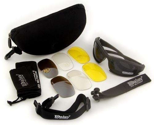 Óculos Militar Motocicleta Ciclismo Queshark Daisy X7