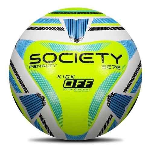 Bola Society Penalty Se7e R2 Kick Off Neon Frete Grátis