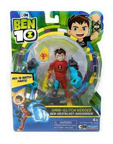 Figuras De Ação Ben 10 Chama Ominitunado Playmates Toys