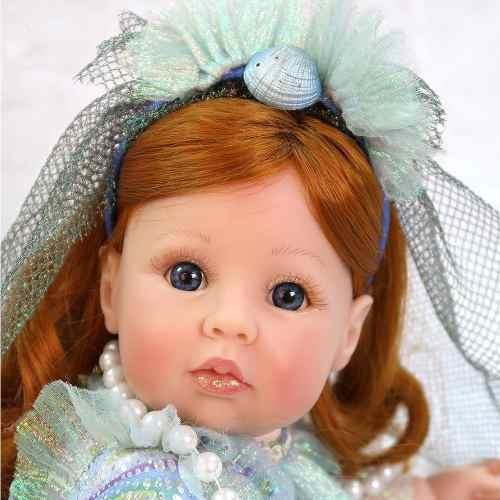 Bebe Bonecas Reborn Sereia Menina Barata Linda