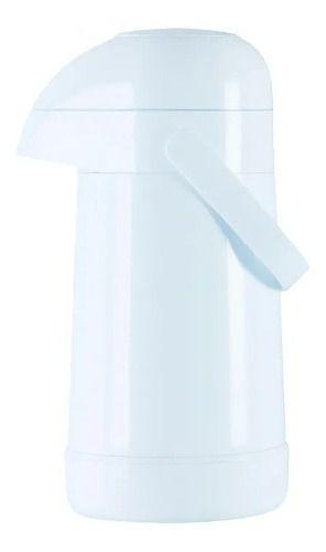 Garrafa Térmica Termolar Magic Pump Pressão 500ml Branca