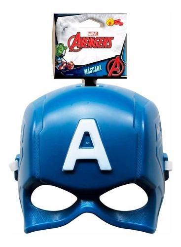 Máscara Do Capitão America Original Marvel Vingadores