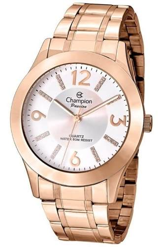 Relógio Champion Feminino Rose Gold - Cn29418z