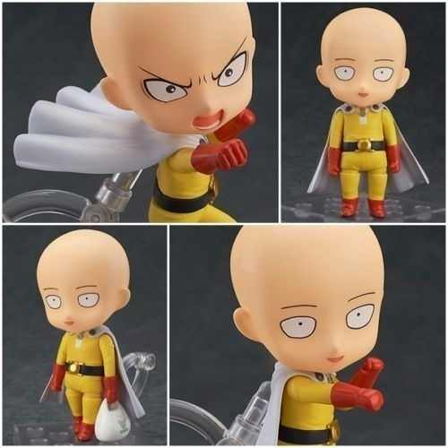 Action Figure One Punch Man Saitama Nendoroid Pronta Entrega