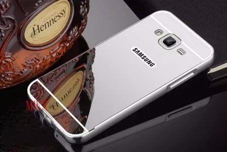 Capinha Bumper Alumínio Espelhada Anti-shock Galaxy E7 E700