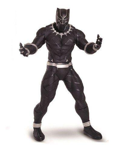 Boneco Articulado 50 Cm-revolution - Marvel - Pantera Negra