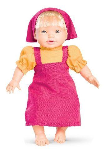 Boneca Mamá Masha - Passeio C/ Função 33cm - Roma Brinquedos
