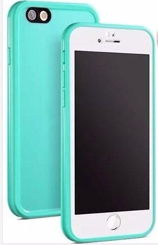 Kit Capinha Case Prova D Agua Apple Iphone 6 Plus