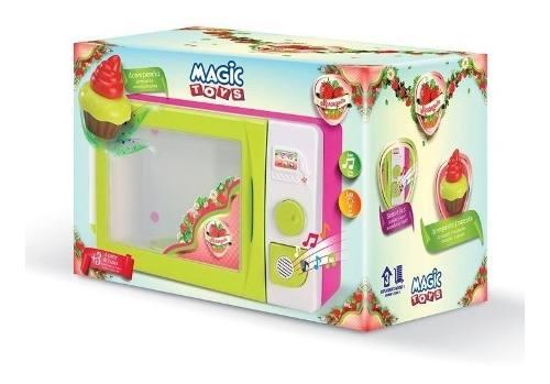 Microondas Infantil Moranguita Magic Toys