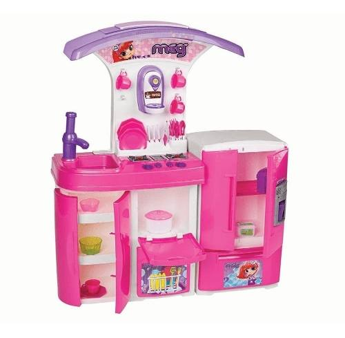 Cozinha Infantil Versátil Super C/água 8031 - Magic Toys