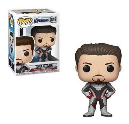 Os Vingadores Ultimato Boneco Pop Funko Tony Stark #449