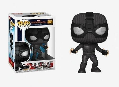 Pop! Spider Man Homem Aranha Stealth Suit 469 Funko