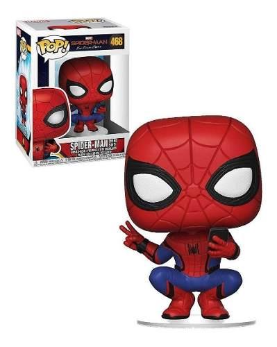 Funko Pop 468 Marvel - Homem Aranha Spider Man