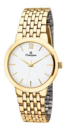 Relógio Feminino Champion Pulseira De Aço - Ch22091h