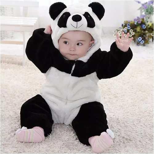 Fantasia Infantil Carnaval Criança Urso Panda Parmalat Fa005