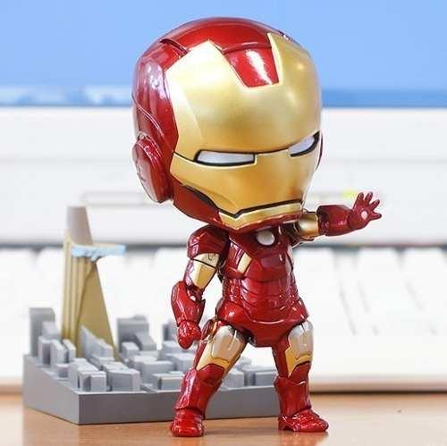 Homem De Ferro Nendoroid 284 Boneco Articulado Iron Man 10cm