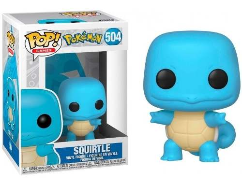 Funko Pop! Games: Pokemon - Squirtle #504