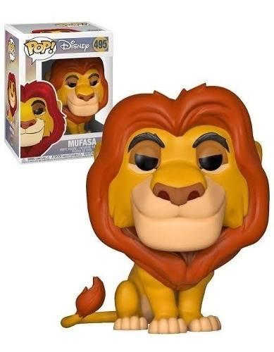 Funko Pop Disney Mufasa O Rei Leão Lion King #495
