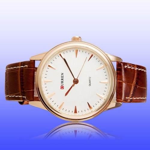 Relógio De Luxo Curren Resistente A Água