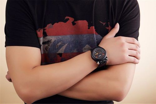 Relógio Militar Masculino Megir À Pronta Entrega