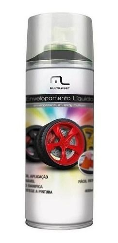 Spray Envelopamento 400ml Preto Fosco Au420 Multilaser