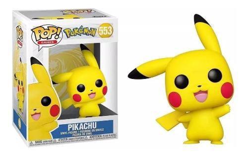 Funko Pop Pokémon Pikachu #553