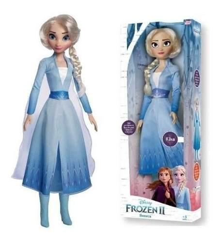 Boneca Frozen 2 Elsa 55cm Disney Original - Promoção