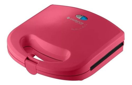 Sanduicheira Minigrill Antiaderente Colors Rosa Doce Cadence