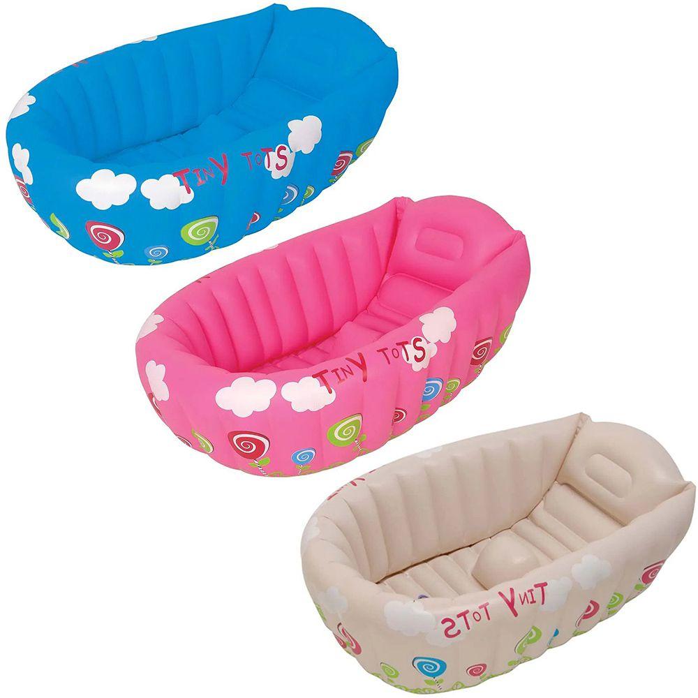 Banheira Inflável Para Bebê Com Indicador De Temperatura Mor