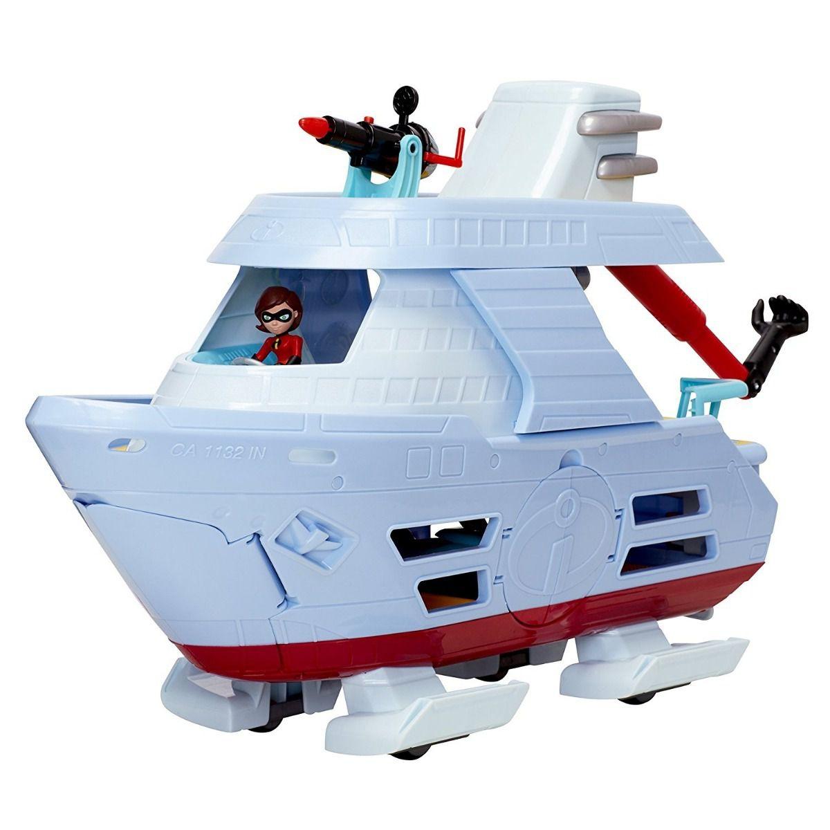 Barco Hydroliner C/ Mulher Elástica Junior S. Os Incríveis 2