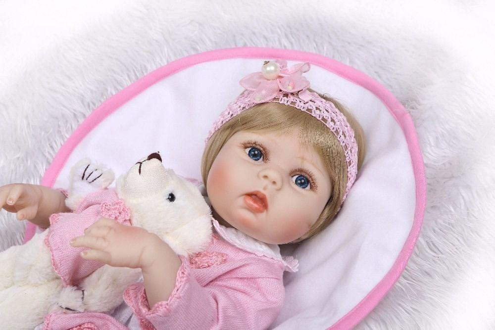 Bebê Real Reborn Realista Princesa Boneca Loira