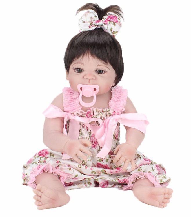 Bebê Reborn Boneca Reborn Menina Silicone Realista - S25 - DUPL
