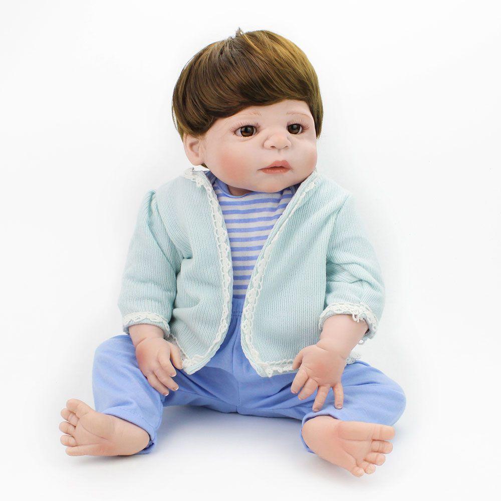 Bebê Reborn Menino Realista Silicone Barato Pronta Entrega Promoção