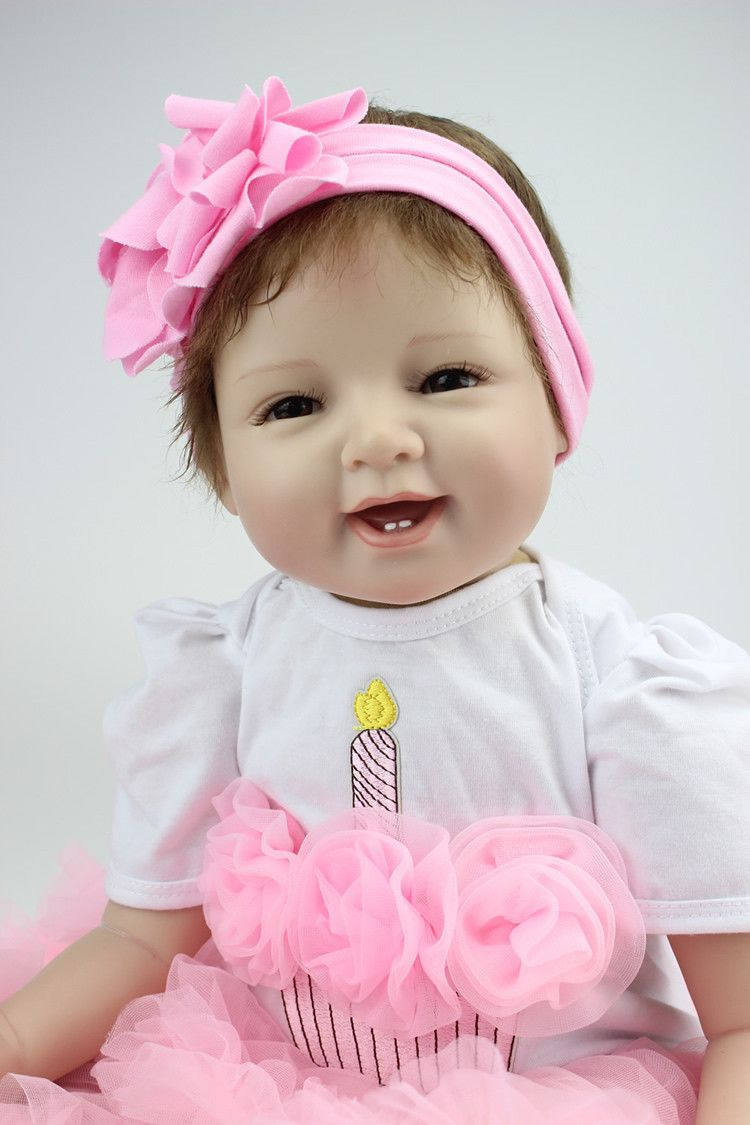 Bebê Reborn Realista Linda Edição Limitada Bailarina - DUPL