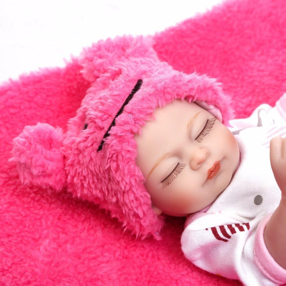 Bebês Mini Reborn Gêmeos Corpo De Silicone Pronta Entrega