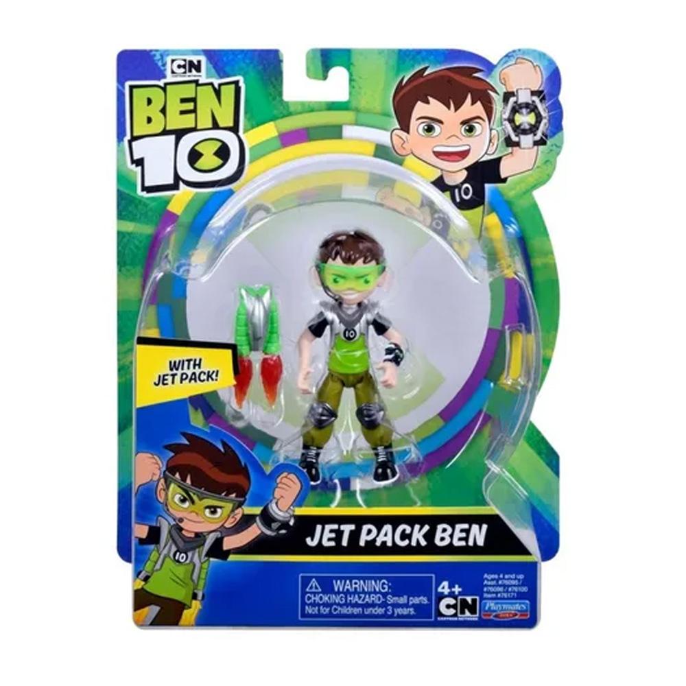 BEN 10 BONECO ARTICULADO BEN JET PACK  - SUNNY