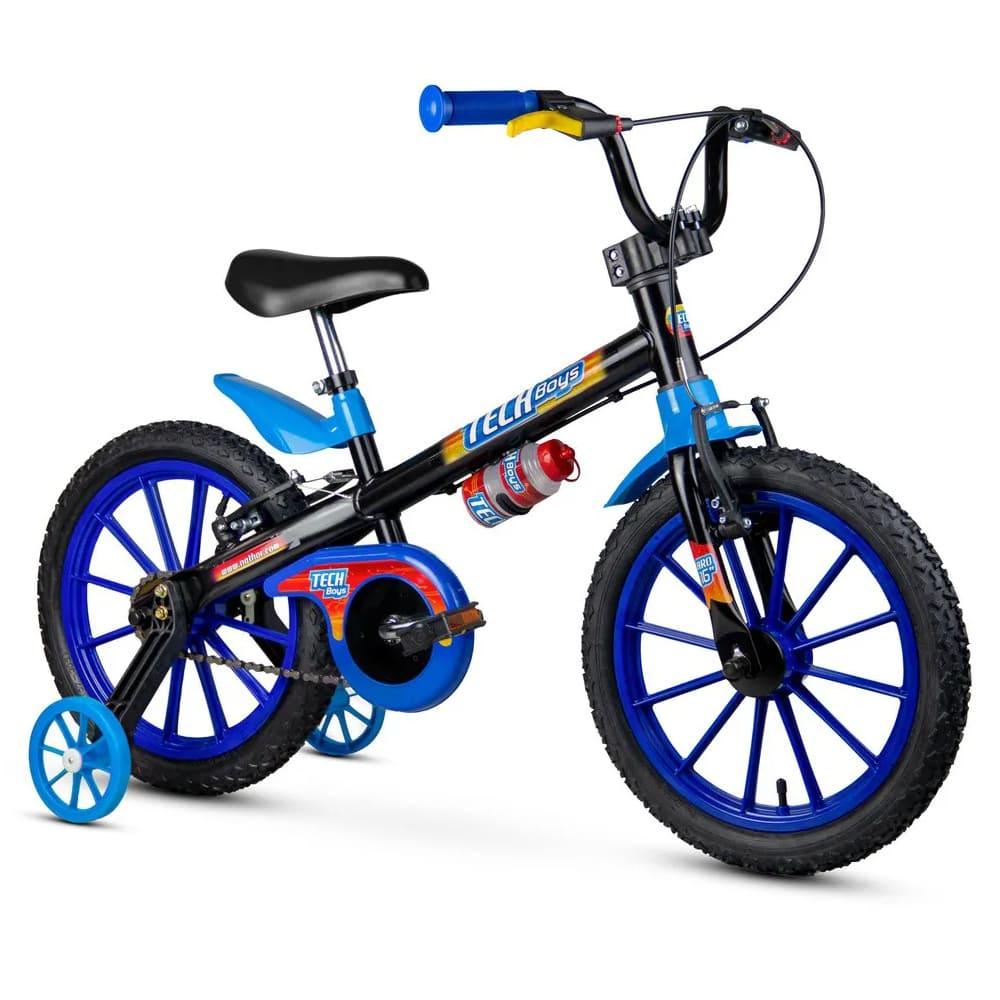 Bike Bicicleta Infantil Nathor Aro 16 Top Girls / Tech Boys 5 A 8 Anos