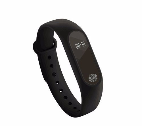 Bingo M2 Smartband Pulseira Inteligente Monitor Cardiaco Preta - DUPLI