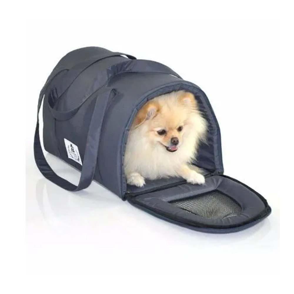 Bolsa De Transporte Pet Cães Luxo Avião Aéreo G 56cm