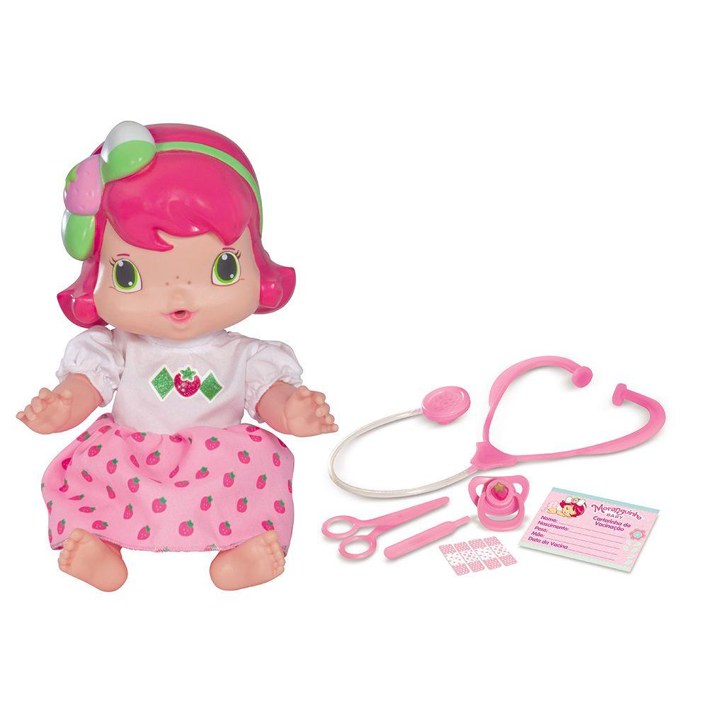 Boneca Baby Moranguinho Dodói - Mimo - 4001