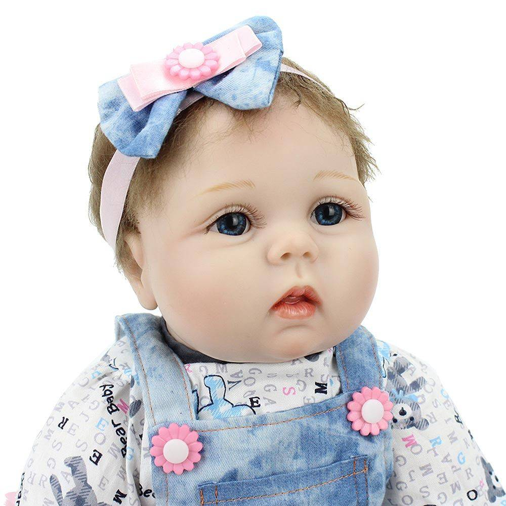 Boneca Laura Baby Lucy - Bebe Reborn - DUPL