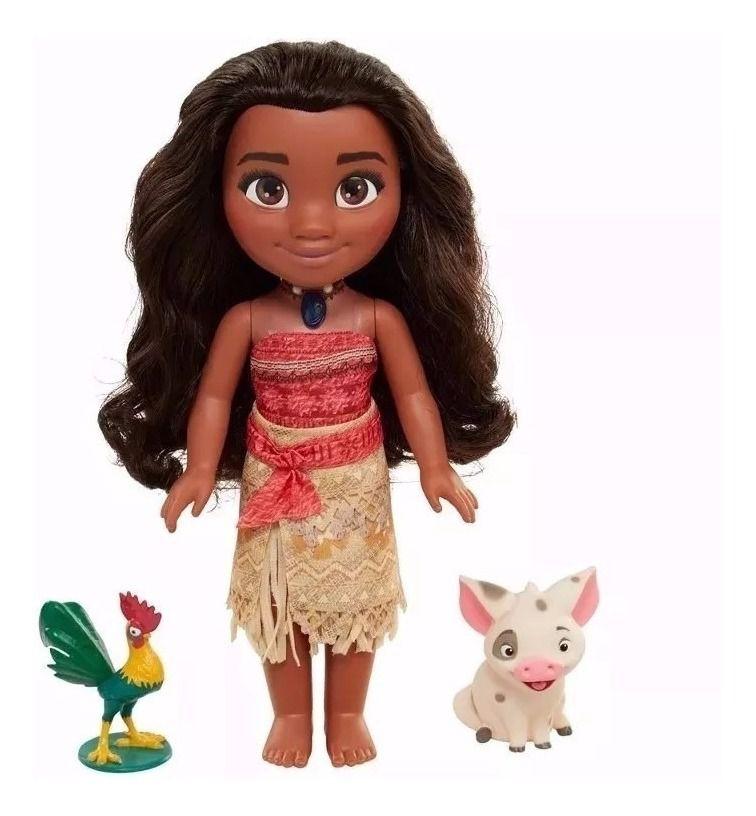 Boneca Moana De 35cm Que Canta E Fala Disney Sem Caixa