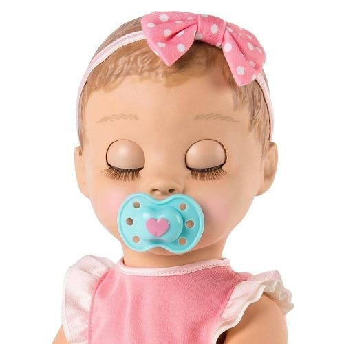 Boneca Realista Interativa Bebê Robô Luvabella Loira Sunny - DUPLI