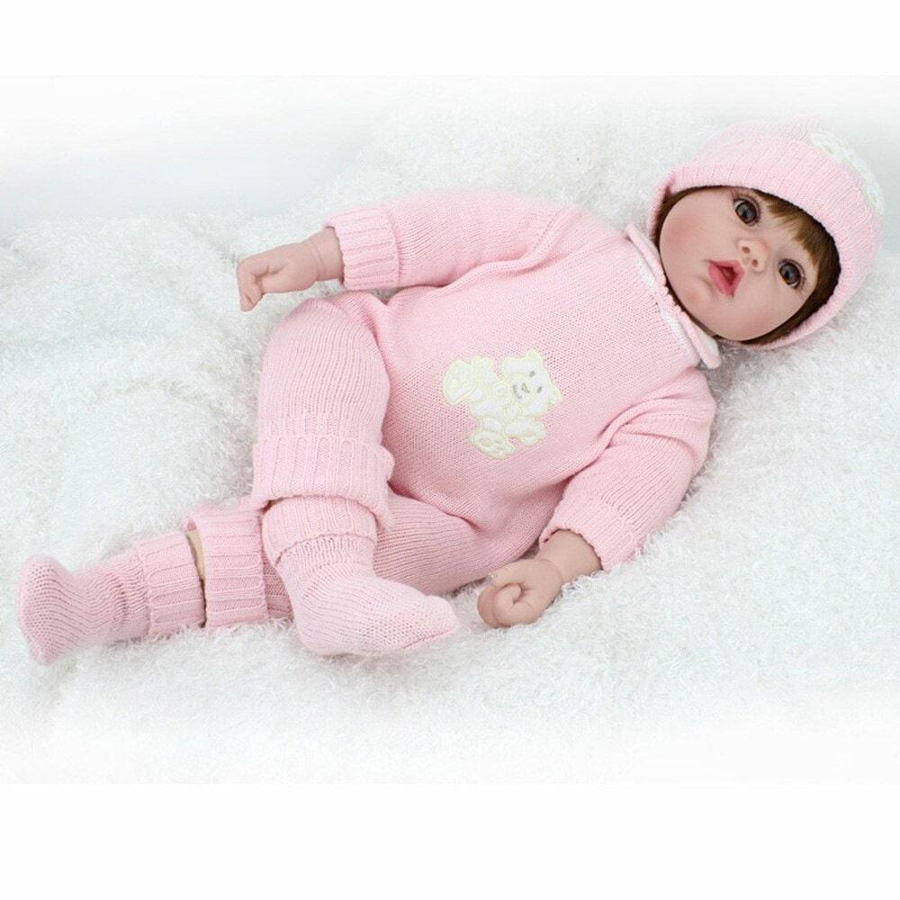Boneca Reborn Linda Menina Princesa Pronta Entrega Analu