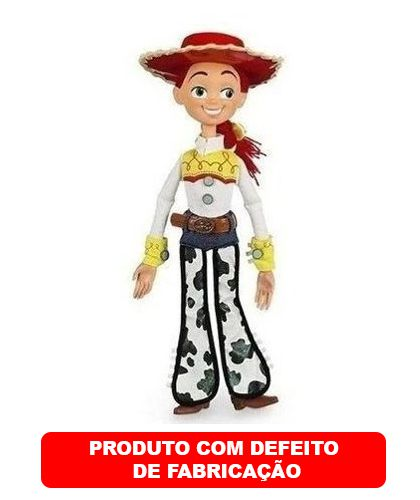 Boneca Vaqueira Jessie Toy Story 40cm - Com Defeito