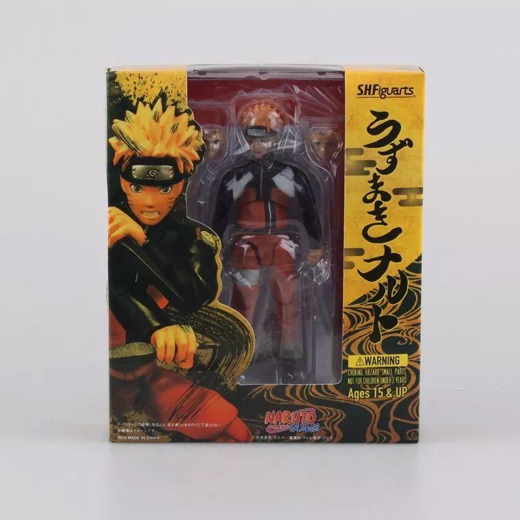 Boneco Action Figure Naruto Uzumaki SH FIGUARTS - DUPL
