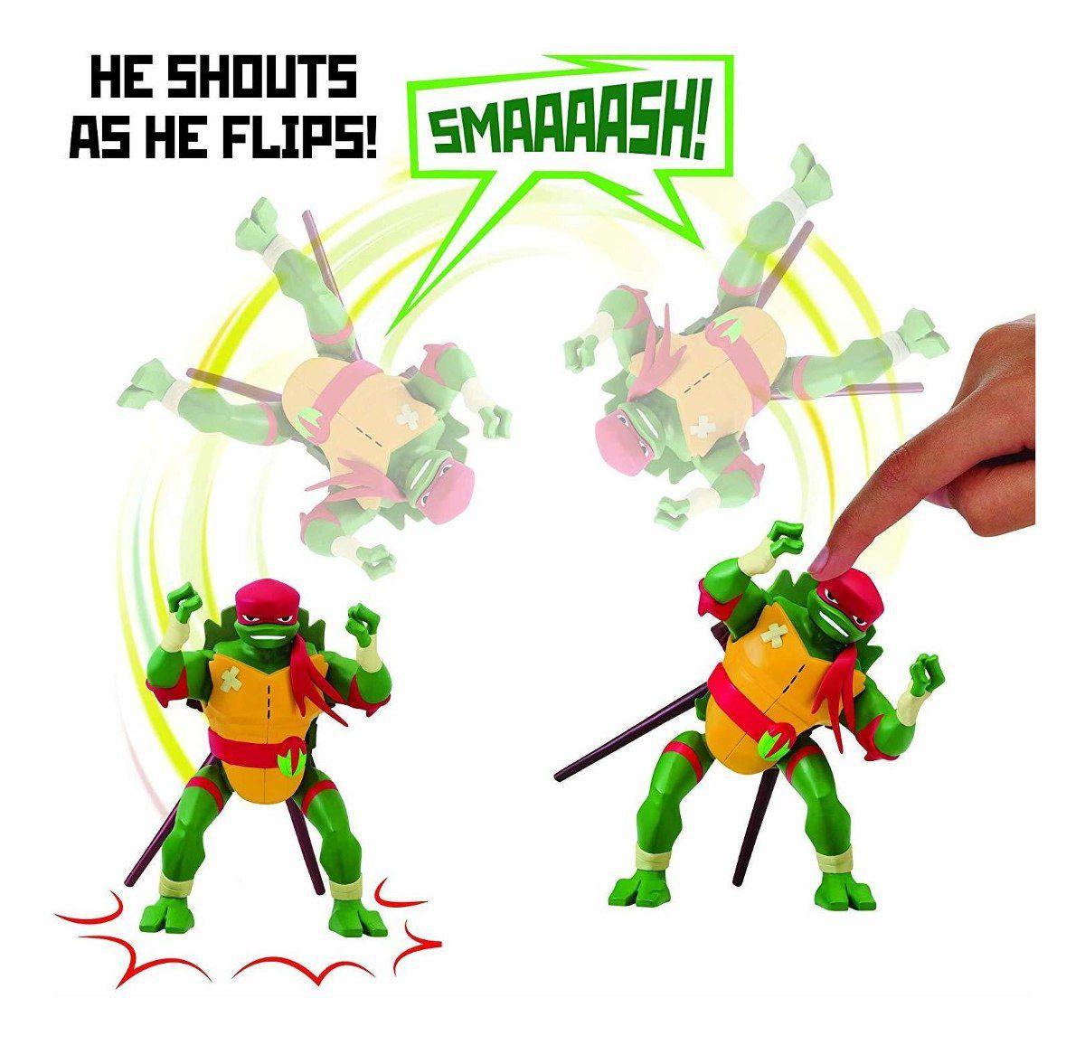 Boneco Action Figure Tartarugas Ninjas Raphael Com Som Sunny 2041